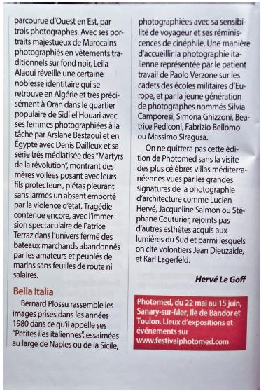 Chasseur d'Images n°364 - Juin 2014 - p.26 article d'Hervé Legoff