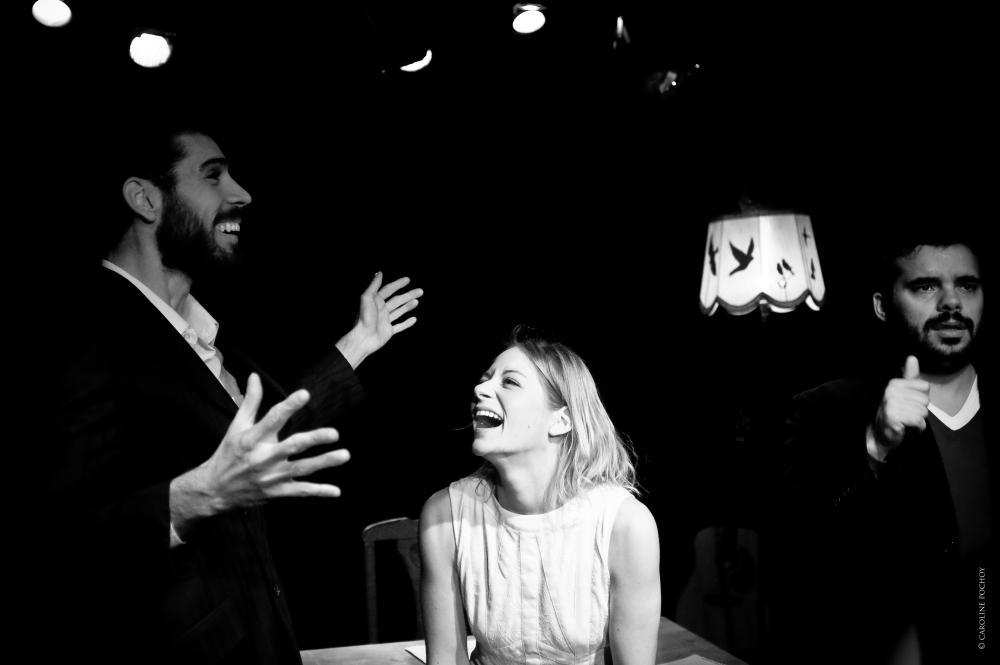 """""""Brassens: Lettres à Toussenot"""" - Un spectacle de la Cie Je Suis Ton Père avec Vincent Mignault, Nicolas Fumo, Laure-Estelle Nézan et Amélie Legrand"""